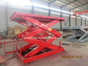 1500kg Hydraulic Stationary Scissor Lift pictures & photos