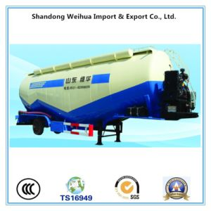 Tri-Axle Light Weight Bulk Cement Truck Trailer V Type Tank Trailer for Sale pictures & photos