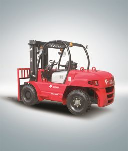 7ton Counter Balance Diesel Forklift (FD70T) pictures & photos