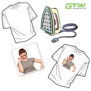 High Quality 120GSM Sublimation Paper for 100% Cotton T-Shirt in A3/A4 Size pictures & photos