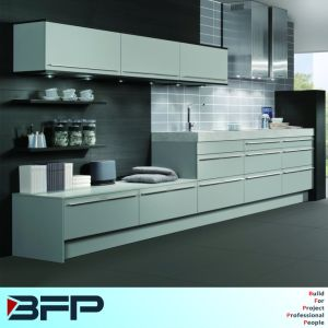 Laminate Pantry Mixed Matt Lacquer Kitchen Cucine pictures & photos