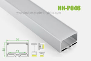 Hh-P046 LED Aluminum Profile for Hanging Linear Lights pictures & photos