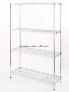 Hot Sale Metal Chrome Wire Flowers Shelf for Uzbekistan pictures & photos