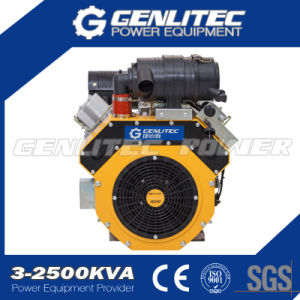 New 27HP Air Cooled V-Twin Cylinder Diesel Engine (DE2V1000) pictures & photos