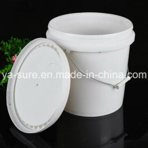 10L Round Plastic Packaging Bucket with Handle pictures & photos
