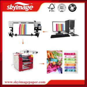 Lanyard/Shoelace/Belt Sublimation Printing with Special Ribbon Rotary Heat Press Machine pictures & photos