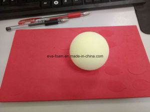 Yellow Color High Elastic EVA Foam Ball EVA Large Foam Balls pictures & photos