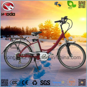 Alloy Frame 250W Good Quality Electric City Road Bicycle pictures & photos