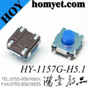 Factory Supply SMD Tact Switch/Tactile Switch with Best Price pictures & photos
