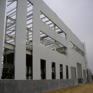 Low Price Prefabricated Light Steel Frame Structure Workshop in Comoros pictures & photos