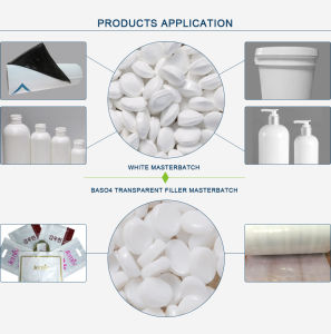 HDPE/LDPE/LLDPE/PP Food Grade White Masterbatch for Making Plastic Bags pictures & photos