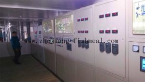 PLC Automatic Controlled Fishmeal Plant Line pictures & photos