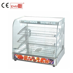 Ce Approved Commercial Glass Hot Food Warmer display Warmer Cabinet on Sale for Shop pictures & photos