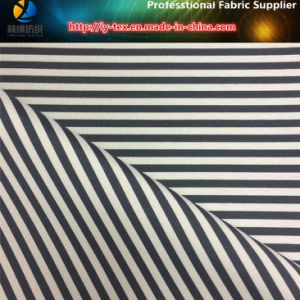 Monofilament Yarn Dyed Stripe Fabric for Dress, Dress Material pictures & photos
