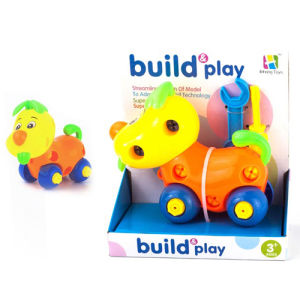 Self Assembly Cartoon Animal for Kids with Pull Line (H9810104) pictures & photos