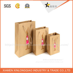 Eco Friendly Custom Printed Foil Shopping Gift/Christmas Paper Bag pictures & photos