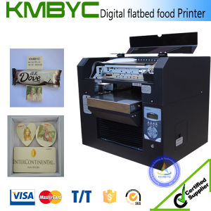 Digital Flatbed Edible Chocolate Printing Machine pictures & photos
