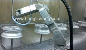 Robot Automotive Aluminum Wheel Hub Painting Line pictures & photos