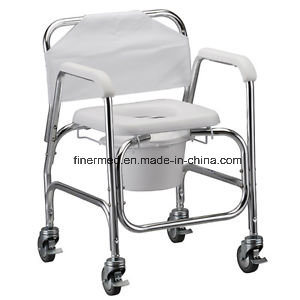 Walker Toilet Frame with Wheels pictures & photos