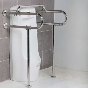 Stainless Steel Flanged Toilet Urinal Grab Bars for Disabled pictures & photos