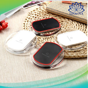 Black and White Universal Qi Standard Wireless Mobile Phone Charger for Samsung/HTC/LG pictures & photos