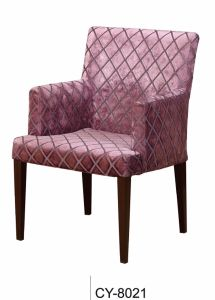 Elegant Wooden-Looking Hotel Dining Chair pictures & photos