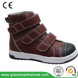 Child Ortho Support Boots Comfortable Leather Boots pictures & photos