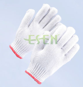 High Quality Cotton Construction Gloves/Hot and Cold Pack Gloves Manufacturer in China pictures & photos