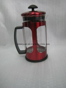 Hot Sell Metal Steel French Press Coffee Press