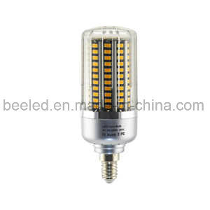 LED Corn Light E14 20W Warm White Silver Color Body LED Bulb Lamp