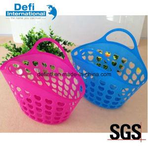 Mini Plastic Portable Soft Basket pictures & photos