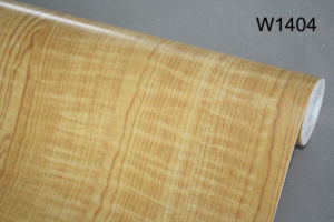 Embossed PVC Wood Grain Heat Shrink Film PVC Kitchen Cabinet Door Film
