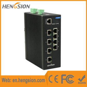 8 Tx and 2 SFP Fx Industrial Ethernet Network Switch pictures & photos