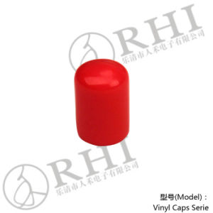 Red PVC Cap 10mm Plastic End Cap for Pipe