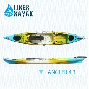 4.3m Length Single Seat Sit on Top Fishing Kayak Travel pictures & photos