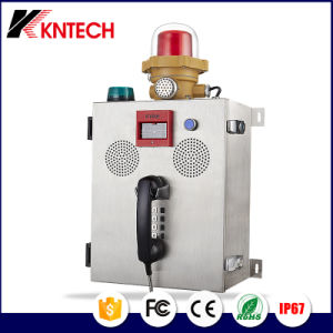 Fire Fighting Equipment Telephone Knzd-41 Emergency Sos Phone for Industrial pictures & photos