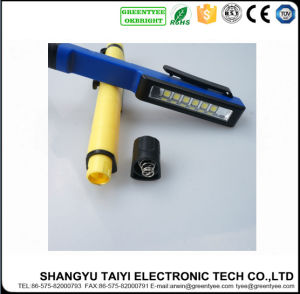 4.5W COB LED Pen Torch Light Handle Magnet Lamp Work Flashlight pictures & photos