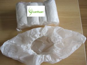 Plastic Shoe Cover White Surgical Supply pictures & photos