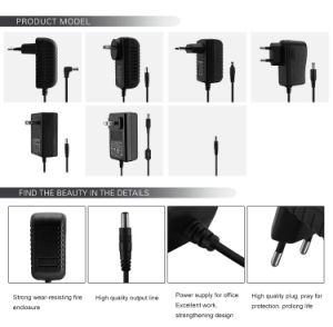 Wholesale 18W 9V 2A Power Adapter with US EU UK Plug pictures & photos
