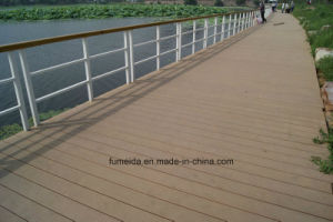 New WPC Outdoor Flooring Wood Plastic Composite Decking From China pictures & photos