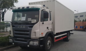 JAC 6X4 and 4X2 Van Truck with 10-30 Ton Loading Box pictures & photos