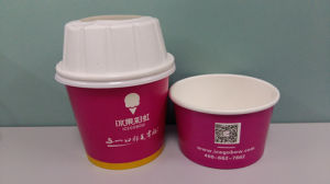 6oz Disposable Ice Cream Cup pictures & photos