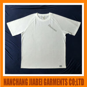 Men′s Soft CVC with Pocket Printing Logo Uniform T-Shirt pictures & photos