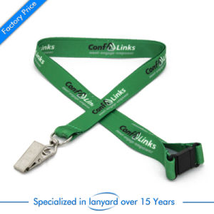 Customized Dye Sublimation Lanyard with Clip pictures & photos