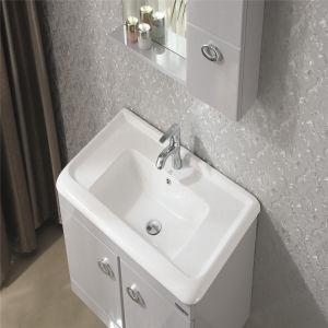 Ceramic Mesa Solid Wood Bathroom Cabinet pictures & photos