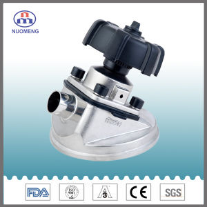 Stainless Steel Manual Tank Bottom Diaphragm Valve pictures & photos