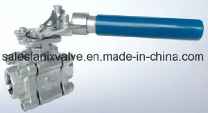3PC Type Ball Valve with Internal Thread. 1 (reduce ball) pictures & photos