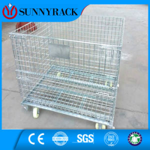 Warehouse Welded Stackable Wire Mesh Container From China Supplier pictures & photos