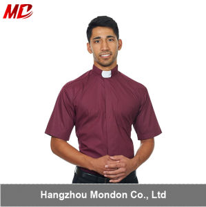Top Selling Tab Collars Clergy Shirts for Church pictures & photos