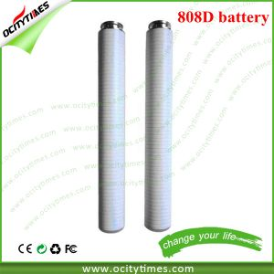 Top Selling 180mAh/280mAh 808d E Cig Rechargeable Battery pictures & photos